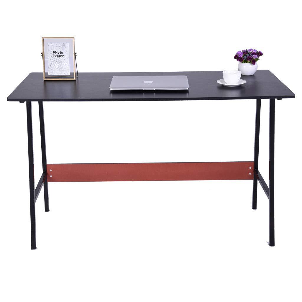 QIANSKY Mobile Compact Computer Desk - Desktop Home Simple Desk Simple Desk Home Office Desk - Notebook Tablet Beside Bed Sofa Portable Workstation - Over Bed Table - for Home Office (Black) by QIANSKY