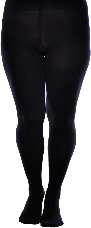 Multipack Womens Opaque Plain Tights Plus Size 60 Denier Aurellie Pantyhose
