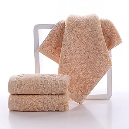 mmynl Pure algodón lavar cara agua absorción adultos toallas de mano de lavado 74 x 34