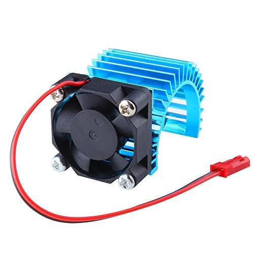 - Hobbypark Brushless Motor Heatsink with Cooling Fan RS540 550 540 Size 5V-6V Electric Engine Heat Sink For RC Car Buggy Monster Truck