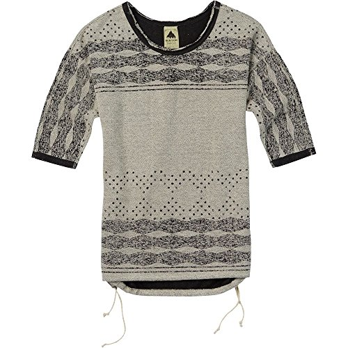 Burton Polly Crew – Camiseta Eclipse Heather