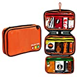 First Aid Kit Bag, Relief Pod Traveler Pro Plus Safety First Aid Kit Small, 62pc
