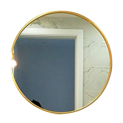 Amazon.com: Bathroom Mirrors Wall-Mounted Round Vanity ...