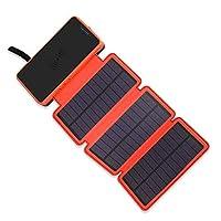 Solar Charger, 20000mAh Solar Battery Ch...