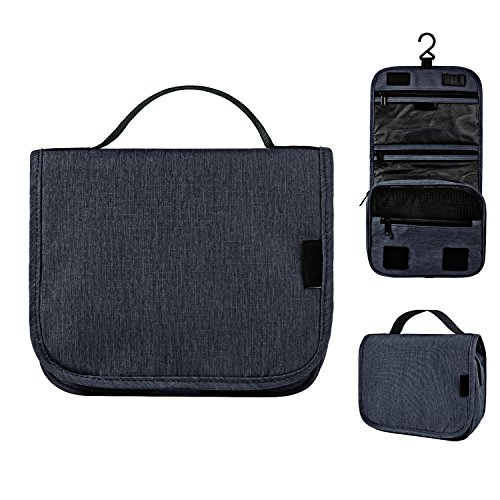 Hanging Toiletry Bag Travel Organizer – Luxsure Waterproof - Contents Beauty Organizer Bag