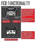 Zero Friction Men's DistancePro GPS Motion Fit Golf Gloves(2 Pack), Black/White, OSFA