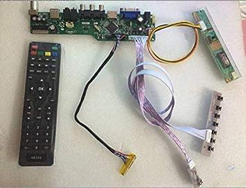 B1 LCD LED controller Driver Board TV+HDMI+VGA+CVBS+USB TL Kit For LP171WP4
