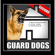 Guard Dogs – Random Barking and Growling Dog Sounds for Added Home Security When the House Is Empty