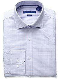 Vince Camuto Men's Slim Fit Stretch Check Dress Shirt...