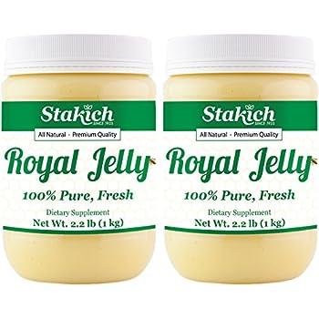 Amazon.com: Jalea real fresca de Stakich, 100% pura ...