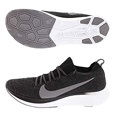 Nike Womens Zoom Fly FK Running Trainers AR4562 Sneakers Shoes (UK 4.5 US 7 EU 38, Black Gunsmoke White 081)