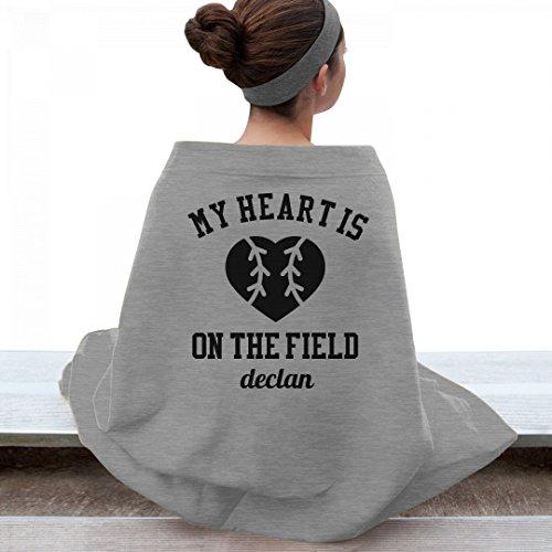 My Heart Is On The Field Declan: Gildan Dryblend Stadium - Declan Fields