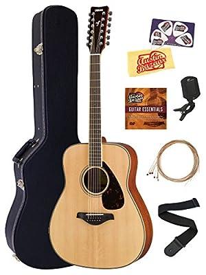 Yamaha FG820 Guitar Bundles with Hard Case