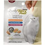 Purina Fancy Feast Purely Natural Cat Treats Variety Pack - (5) 10 Ct. Pouches