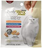 Purina Fancy Feast Purely Natural Variety Pack Cat Treats (5 Pack), 1.06 oz