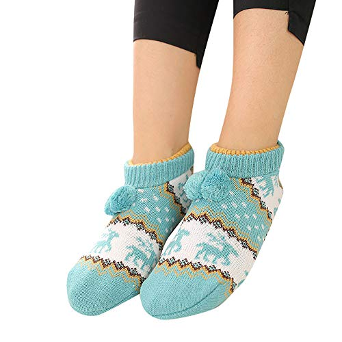 AMSKY Hot Sale!Socks For Toddler Boys,Children Warmer Sock Knitted Fairisle Pattern Slipper Floor -