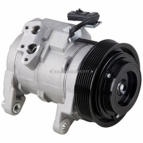 AC Compressor & A/C Clutch For Dodge Ram & Durango w/ 5.7L Hemi V8 - BuyAutoParts 60-01722NA NEW