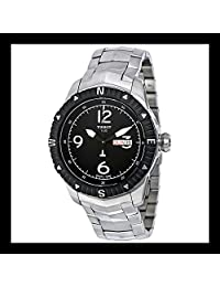 Tissot T-Navigator Automatic Black Dial Stainless Steel Mens Watch T0624301105700