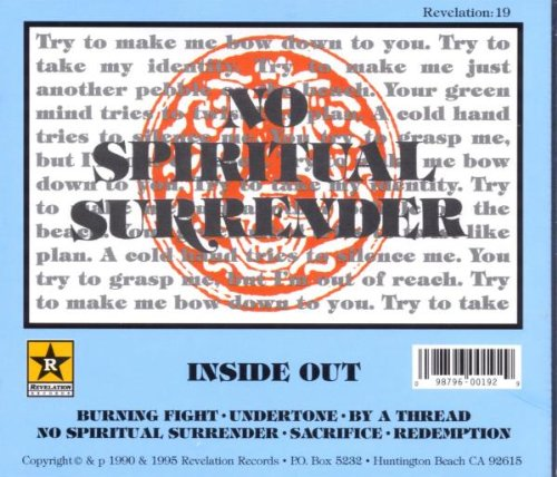 No Spiritual Surrender