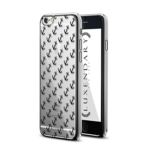 Luxendary LUX-I6PLCRM-ANCHOR1 Anchors Pattern Design Chrome Series Case for iPhone 6/6S Plus