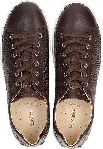 Nero Sneaker Giardini Dunkelbraun Herrenschuhe 0282 Marrone 300 P800282 rwwxd5q8