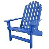 Original Pawleys Island DWAC1BLU Durawood Essentials Adirondack Chair, Blue Review