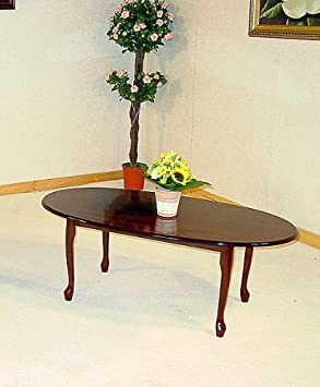 Coffee Table In Mahogany Or Golden Oak High Gloss Delivery To Uk