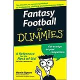 Fantasy Football For Dummies (English Edition)