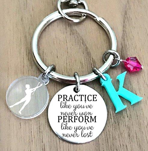 Baton Keychain, Twirling Keychain, Twirler Keychain, Majorette Keychain, Baton Gifts, Twirler Gifts, Baton Twirling Gifts, Majorette Gift
