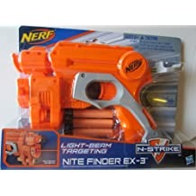 Nerf N Strike Orange & Grey Nite Finder EX-3