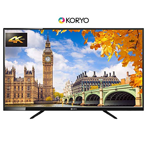 Koryo 127 cm (50 inches) 4K Ultra HD LED TV KLE50UDFR63U (Black) (2019 Model)