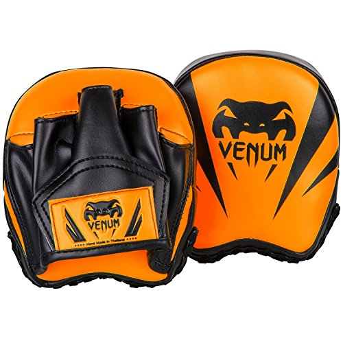 Venum Elite Mini Punch Mitts - Neo Orange - One Size