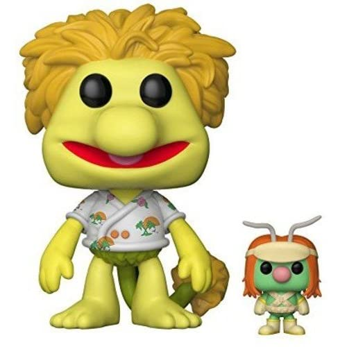 Funko - Pop Vinyle Fraggle Rock Wembley avec Doozer Figurine, 15044