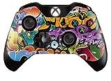 Xbox One Controller/Gamepad Skin / Cover / Vinyl Wrap - Graffiti Bomb Design (Pack of 2 Skins)