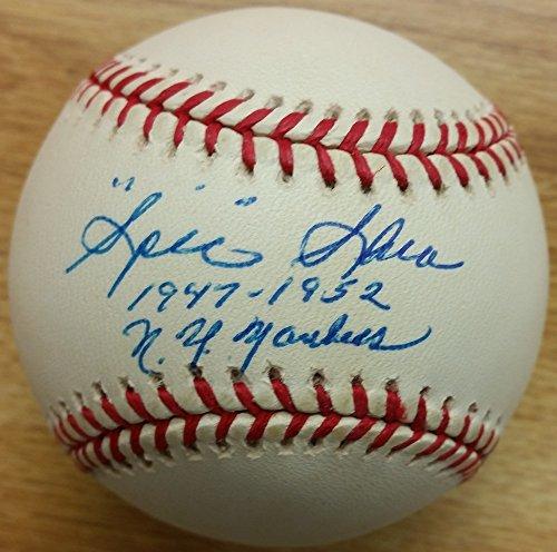 Spec Shea Signed Official Gene Budig American League Baseball - Autographed - Specs Online Shop
