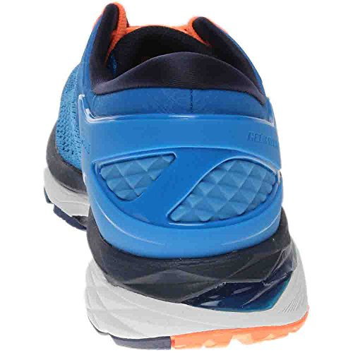 ASICS Men's Gel-Kayano 24 Running Shoe, Directoire Blue/Peacoat/Hot Orange, 12 Medium US by ASICS (Image #2)