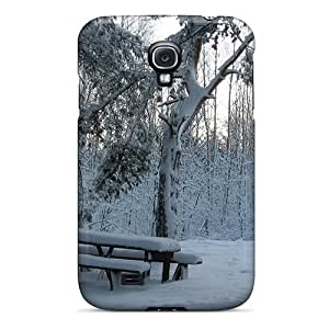 AngelaMs Perfect PC For Case Ipod Touch 5 Cover Anti-scratch Protector Case (winter In The Park)