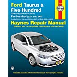 Ford Taurus (2008 thru 2014) & Five Hundred (2005 thru 2007): Includes Mercury Montego (2005 thru 2007) and Sable (2008 and 2009)