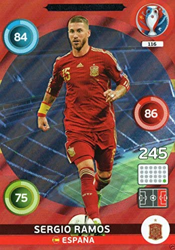 Panini Adrenalyn XL – Uefa Euro 2016 Ramos Defensiva Rock tarjeta: Amazon.es: Deportes y aire libre