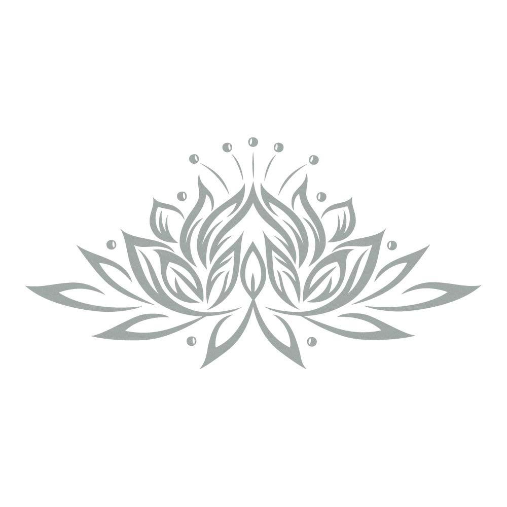 Azutura Lotus Blaume Wandtattoo Wandtattoo Wandtattoo Blaumen Wand Sticker Buddhismus Wohnkultur verfügbar in 5 Größen und 25 Farben Mittel Weiß B00DODG4SC Wandtattoos & Wandbilder e23b50
