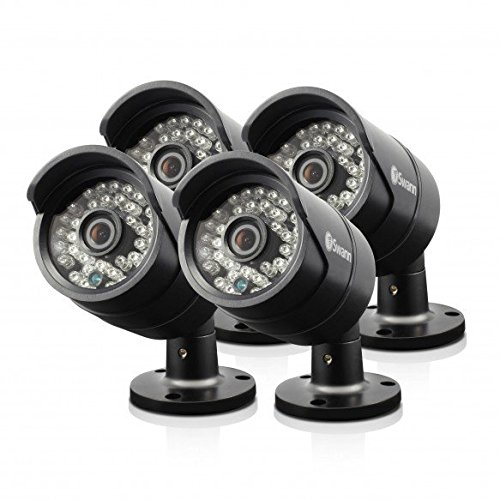 Swann SRPRO-A850WB4-US PRO-A850 AHD Analog 720P Security Cameras- 4 PACK