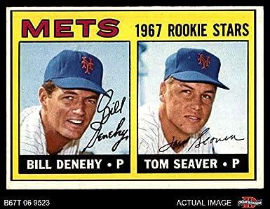 Amazoncom 1967 Topps 581 Mets Rookies Tom Seaverbill