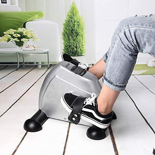 Mini Exercise Bike Pedal Exerciser Portable Cycle Arm and Leg Exerciser with LCD Display by AGM (Image #5)