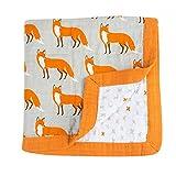Quest Sweet Baby Muslin Swaddle Blankets, Nursing Cover, Burp Cloth, Muslin Baby Blanket, Winter Receiving Blanket
