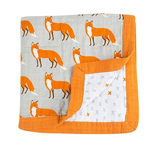 Quest Sweet Baby Muslin Swaddle Blankets, Nursing Cover, Burp Cloth, Muslin Baby Blanket, Winter Receiving Blanket by Quest Sweet