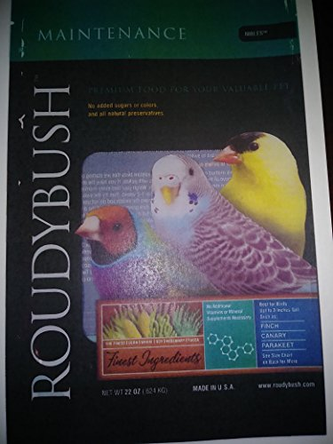 Image of RoudyBush Daily Maintenance Bird Food, Nibles, 22-Ounce