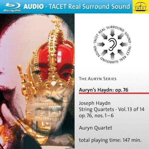 Auryn Quartett - Auryn Series 13: Auryn\'s Haydn: Op. 76 String (Blu-ray Audio)