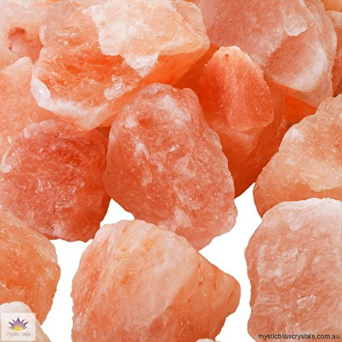 100% Authentic Pure Pink Himalayan Rock Salt Chunks Stone Box Food Grade (25 lbs) by UmAid