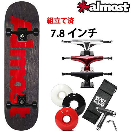 堅実な究極の ALMOST(オルモスト) スケボー コンプリート ブラック オールモスト ULTIMATE ULTIMATE 完成品 LOGO 7.875×31.4インチ almost skateboards スケートボード 完成品 B07PRT1DDP ソフト/ブラック56mm|ブラック ブラック ソフト/ブラック56mm, メガネサングラスのDOURAKU:9c0ff758 --- svecha37.ru