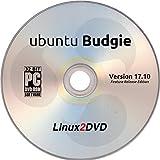 ubuntu Budgie 17.10 - Latest Feature Release Edition of Ubuntu with Lightweight Budgie Desktop, 32 Bit Live Boot / Install
